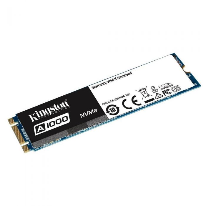 Dysk SSD Kingston A1000 960GB M.2 2280 PCIe NVMe (1500/1000 MB/s) 3D NAND, TLC-637438