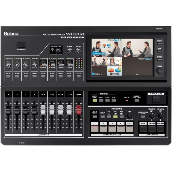Roland VR-50HD mikser audio wideo