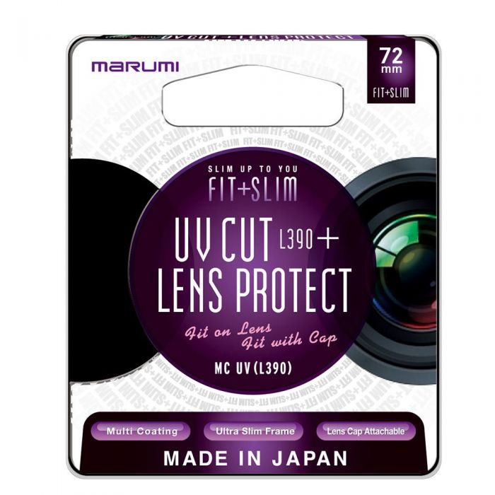 MARUMI filtr fotograficzny FIT SLIM MC UV (CL) 72mm-1543437